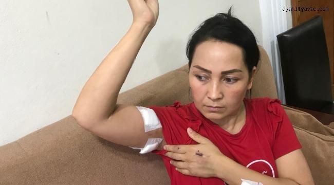 17 bıçak darbesiyle ağır yaralanan kadına özel hastane şoku