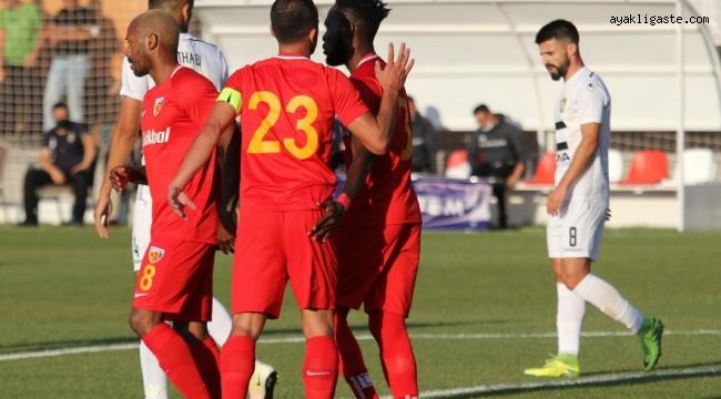 Hazırlık Maçı: Kayserispor: 1 - Ballkani: 1