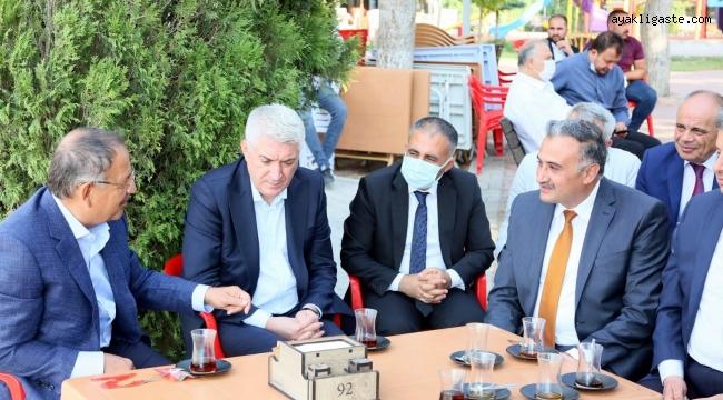 Özhaseki, Develi'de yerel yönetimler istişare toplantısı yaptı