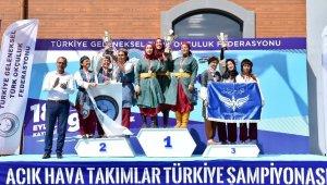 Kayseri'de Açık Hava Takımlar Türkiye Şampiyonası sona erdi