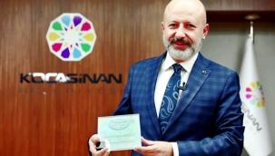 Kocasinan Belediyesi'ne Tarihi Kentler Birliği'nden uygulama ödülü
