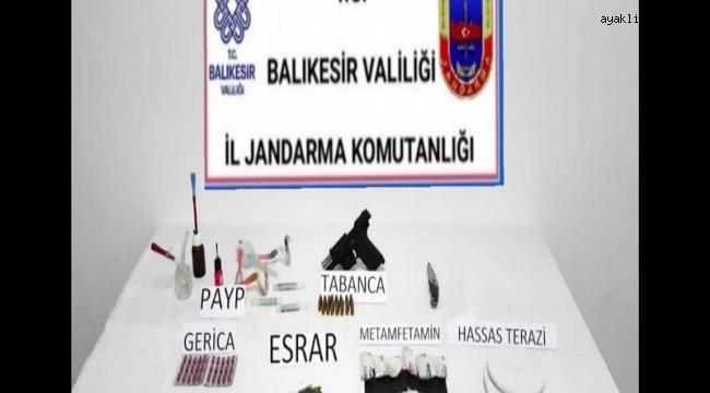 Balıkesir'de jandarmadan 16 şahsa gözaltı