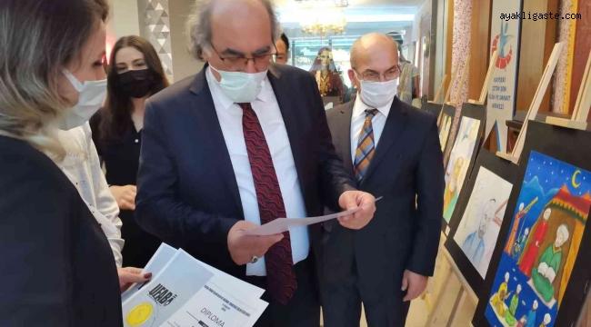 Farabi İslam Bilim ve Düşünce Tarihi Resim Sergisi açıldı