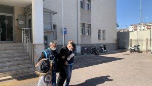 Kayseri'de kablo çalarken suçüstü yakalanan şahıs adliyeye sevk edildi