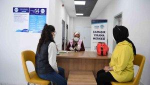 Öğrenci dostu Kayseri Büyükşehir'den çamaşır yıkama hizmeti