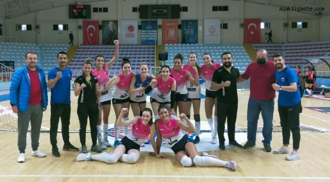 Sigorta Shop Kadınlar 1. Lig'inde Kayseri OSB galibiyetle başladı
